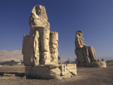Colossi Memon in Luxor, Egypt Fotografie-Druck von Richard Nowitz