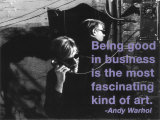 Billy Name - Good in Business - Art Print