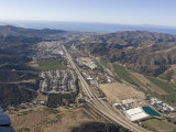 Aerial Photographs over a Residential Neighborhood in Ventura, California Photographic Print by Rich Reid
