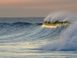 Big Waves Breaking at Sunrise at Emma Woods State Beach, California Photographic Print by Rich Reid