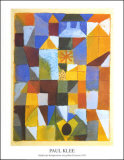 Stadische Komposition Poster di Paul Klee