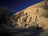 Abu Simbel Temple of Ramses Ii in Egypt Fotografie-Druck von Richard Nowitz
