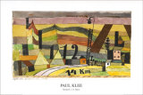 Station L 112, c.14 Km Prints by Paul Klee