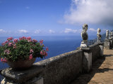 Belvedere of Infinity at the Villa Cimbrone on the Amalfi Coast in Ravello, Italy Photographic Print by Richard Nowitz