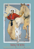 Taking the Reins Prints by Donna Howell-Sickles