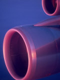 Close-Up of Jet Engine, in Mid Air over Atlantic Ocean Photographic Print by  Brimberg & Coulson