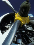 Closeup of a Military Grumman Tracker Engine and Propeller, Australia Photographic Print by Jason Edwards