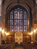 Cadet Chapel with Stained Glass Windows at the West Point Military Academy in New York Photographic Print by Richard Nowitz