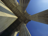 Abstrat View of Columns at Lincoln Memorial, Washington, D.C. Photographic Print by Kenneth Garrett