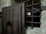 Close View of Heavy Door to a Cell in the Doges Prison, Venice, Italy Photographic Print by Todd Gipstein