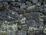 Antique Granite Wall Constructed by Covicts Whilst in Prison, Australia Photographic Print by Jason Edwards