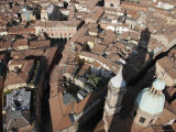Bologna from the Torre Degli Asinelli Tower, Italy Photographic Print by Gina Martin