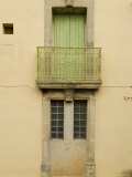 Cast Iron Rail on a Old French Building, Aspiran, France Photographic Print by Bill Hatcher