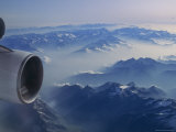 Aerial over Alaskan Mountains Photographic Print by Kenneth Garrett