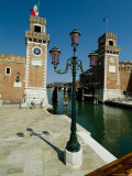 Canal Leading into the Arsenale in Venice, Italy Photographic Print by Todd Gipstein