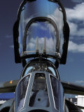 Closeup of a French Dassault Alpha Jet Fighter Cockpit and Canopy, Australia Photographic Print by Jason Edwards