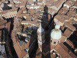 Bologna's Basilica di San Petronio from Torre Degli Asinelli, Italy Photographic Print by Gina Martin