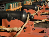 Cannons on the USS Constitution, Boston, Massachusetts Photographic Print by Tim Laman
