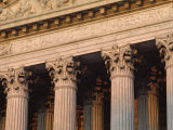 Closeup of the U.S. Supreme Court Building, Washington, D.C. Photographic Print by Kenneth Garrett