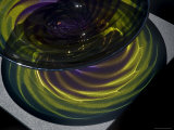 Close View of Glass Bowl, Mystic, Connecticut Photographic Print by Todd Gipstein