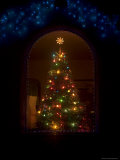 Christmas Tree in a Home Photographic Print by John Burcham