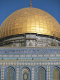 Israel, Jerusalem: Dome of the Rock Photographic Print by  Brimberg & Coulson