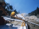 Dory Boater Runs Rapics on the Salmon River Photographic Print by Bill Hatcher