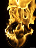 Close Up of Fire Burning, Copenhagen, Denmark Photographic Print by Brimberg & Coulson