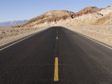 Badwater Road at Mormon Point in Death Valley National Park, California Photographic Print by Rich Reid