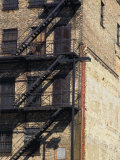 Fire Escape Steps on a Building Photographic Print by Stacy Gold