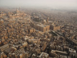 Aerial View of Cairo, Egypt Photographie par James L. Stanfield