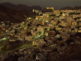 Aerial View of the Omani Capital, Situated on Muscat Bay of the Gulf of Oman Photographic Print by James L. Stanfield