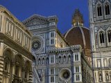 Duomo, Exterior, Night, Florence, Italy Photographic Print