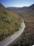 Highway Cuts Through Crawford Notch in New Hampshire's White Mountains Photographic Print by Richard Nowitz