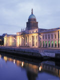 Custom House on Liffey River in Dublin, Ireland Photographic Print by Richard Nowitz
