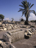 Excavations of the Ancient Biblical City of Meggido, Israel Photographic Print by Richard Nowitz