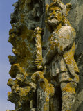 Close View of a Sculpture on the Exterior of the Covento de Cristo Photographic Print by James L. Stanfield