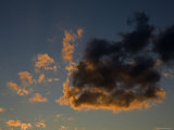 Image of Clouds at Sunset, Massachusetts Photographic Print by Tim Laman