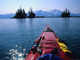 Exploring by Sea Kayak the Harriman Fiord, Alaska Photographic Print by Bill Hatcher