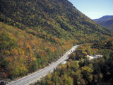 Highway Cuts Through the White Mountains of New Hampshire Photographic Print by Richard Nowitz
