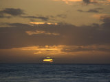 Beautiful Sunset over the Pacific Ocean, Hawaii Photographic Print by Stacy Gold