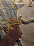 King Thutmose III with Atef Crown in the Luxor Museum in Luxor, Egypt Photographic Print by Richard Nowitz