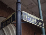 Famous Street Sign in New Orleans Photographic Print by Stacy Gold