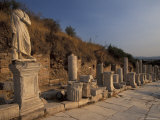 Curates Street in Ephesus, Turkey Photographic Print by Richard Nowitz