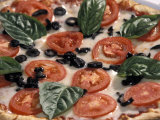 Fresh Italian Pizza at Patrizio Restaurant at Highland Park Village in Dallas, Texas Photographic Print by Richard Nowitz