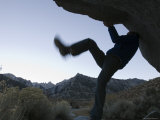 Climbing in the Lone Pine Campground on the Whitney Portal Road, California Photographic Print by Rich Reid