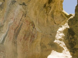 Emigdiano Chumash Pictograph Abstract Design on the Rocks, California Photographic Print by Rich Reid