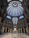 King Umberto I Shopping Arcade Across from the Palace in Naples, Italy Photographic Print by Richard Nowitz