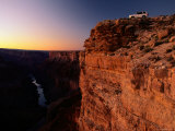Car Perches on the Edge of the Grand Canyon Photographic Print by Joyce Dale