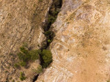 Deep Rocky Ravine in an Eroded Landscape, Madagascar Photographic Print by Michael Fay